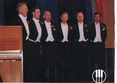 Frá vinstri: Sigurður Jónsson, Arnór Stígsson, Ásgeir, Gunnlaugur Jónasson, Gunnar Jónsson og Jón Guðjónsson.