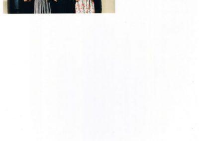 Efri röð frá vinstri:  Skarphéðinn Þór Hjartarson, Sigurður Friðrik Lúðvíksson, Jónas Tómasson, Jan Homan, Elín Jónsdóttir. Miðröð frá vinstri:  Margrét Gunnarsdóttir, Beáta Joó, Sigríður Svavarsdóttir, Sigríður Jónsdóttir Ragnar, Elín Jónsdóttir. Neðsta röð frá vinstri: Linda Sveinbjörnsdóttir, Ólöf Jónsdóttir, Sigríður Ragnarsdóttir, Margrét Bóasdóttir.